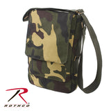 Rothco's Vintage Canvas Military Tech Bag for iPads and notebooks - Woodland Camo