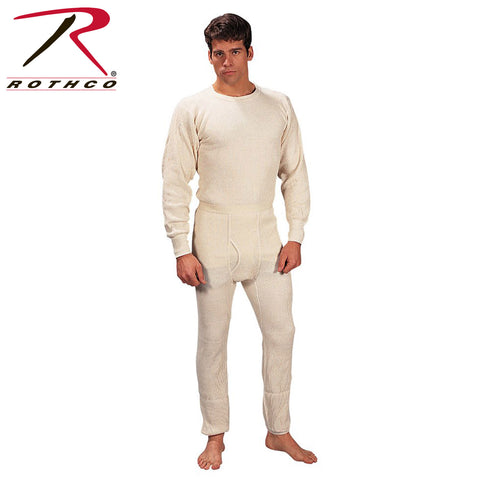 100% Cotton Heavyweight Thermal Knit Underwear