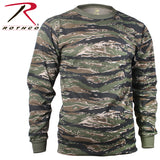 Long Sleeve Camo T-Shirt - Tiger Stripe Camo