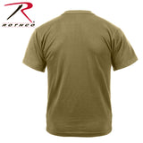 Rothco AR 670-1 Coyote T-Shirt-Rear View