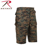 Long Length Camo BDU Short - Woodland Digital Camo