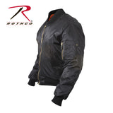 Rothco Concealed Carry MA-1 Jacket - Left Sleeve Pocket