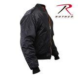 Rothco Concealed Carry MA-1 Jacket - Right Sleeve View