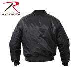 Rothco Concealed Carry MA-1 Jacket - Back View