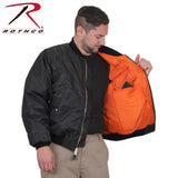 Rothco Concealed Carry MA-1 Jacket - Concealed pocket