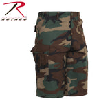 Long Length Camo BDU Short - Woodland Camo