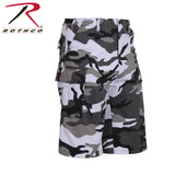 Long Length Camo BDU Short - City Camo