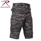 Long Length Camo BDU Short - Tiger Stripe Camo