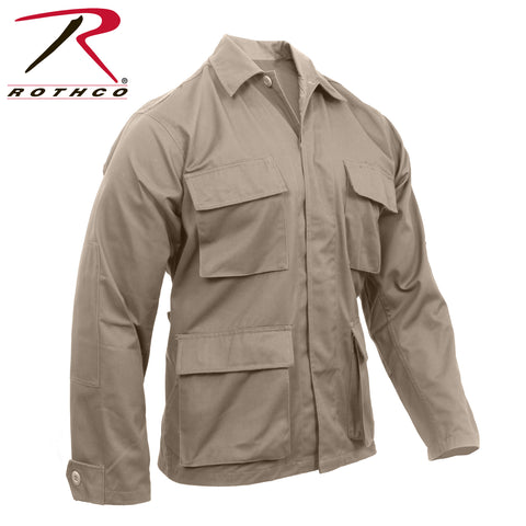 Rothco Matching Poly/Cotton Twill Solid BDU Shirts