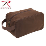 Rothco Canvas Travel Kit - Earth Brown