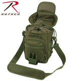 Rothco Flexipack MOLLE Tactical Shoulder Bag - Drawstring closure inner compartment