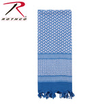 Shemagh Tactical Desert Scarf - Blue/White