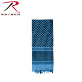 Shemagh Tactical Desert Scarf - Black/Blue
