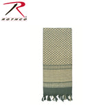 Shemagh Tactical Desert Scarf - Foliage Green