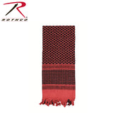 Shemagh Tactical Desert Scarf - Red/Black