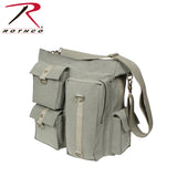 Rothco's Vintage Multi Pocket Messenger Bag - Olive Drab