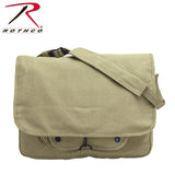 Rothco's Vintage Canvas Paratrooper Bag - Khaki