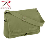 Rothco's Vintage Unwashed Canvas Messenger Bag - Olive Drab