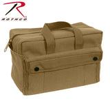 Rothco's tough G.I. Type Mechanics Tool Bag - Coyote Brown