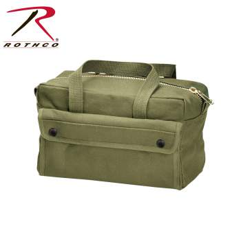 Rothco G.I. Type Mechanics Tool Bag With Brass Zipper - Olive Drab