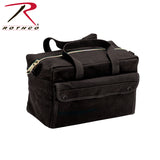 Rothco G.I. Type Mechanics Tool Bag With Brass Zipper - Black