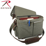 Canvas Trailblazer Laptop Bag - Olive Drab