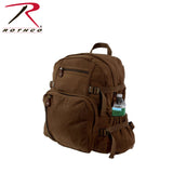 Rothco's Jumbo Vintage Canvas Backpack - Brown