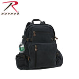 Rothco's Jumbo Vintage Canvas Backpack - Black