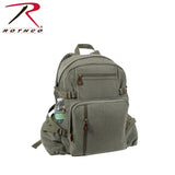 Rothco's Jumbo Vintage Canvas Backpack - Olive Drab