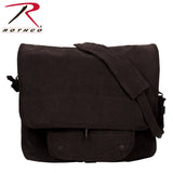 Rothco's Vintage Canvas Paratrooper Bag - Black