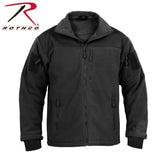 Rothco Spec Ops Tactical Fleece Jacket-Black