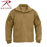 Rothco Spec Ops Tactical Fleece Jacket-Coyote Brown Front