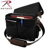 Canvas Trailblazer Laptop Bag - Black