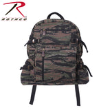 Rothco's Jumbo Vintage Canvas Backpack - Tiger Stripe Camo