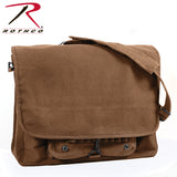 Rothco's Vintage Canvas Paratrooper Bag - Brown