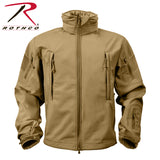 Special Ops Tactical Soft Shell Jacket - Coyote Brown