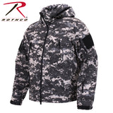Special Ops Tactical Soft Shell Jacket - Subdued Urban Digital Camo