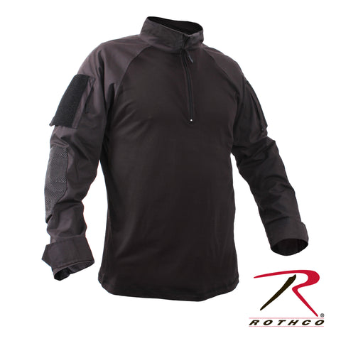 Quarter Zip Military Fire Retardant NYCO Combat Shirt
