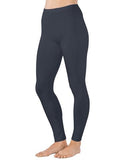 Organic Cotton Spandex Legging - Charcoal