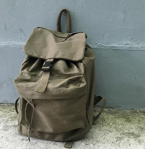 100% Cotton Canvas Daypack-Main