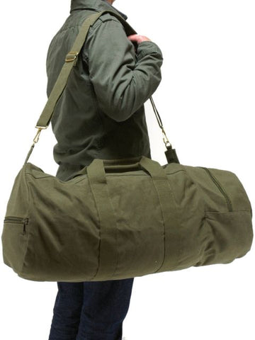 Cotton Canvas Double-Ender Sports Bag
