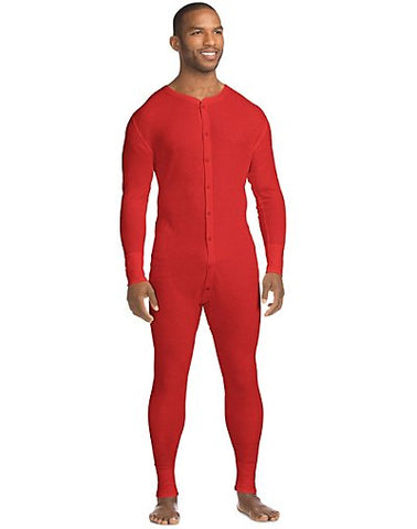 Hanes X-Temp™ Men's Organic Cotton Thermal Union Suit
