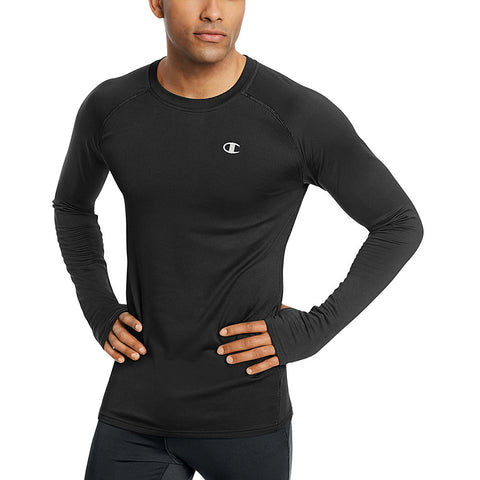 Champion Men's Cold Weather Long-Sleeve Tee-Main