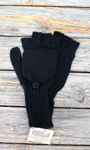 100% Alpaca Wool Gloves / Glittens