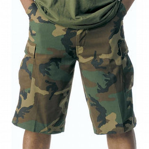 Long Length Camo BDU Short-Main