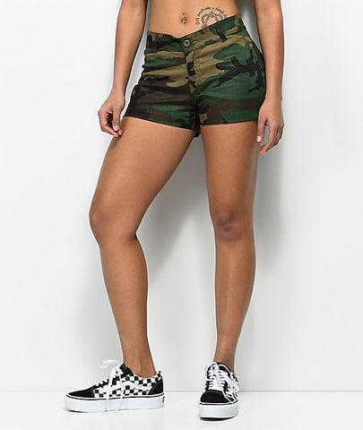 Rothco Womens Camo Shorts - Main