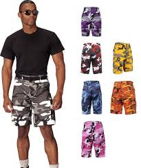Rothco Color Camo BDU Shorts