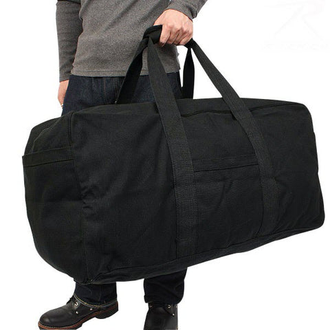 Rothco Canvas Jumbo Cargo Bag - Carry Handles