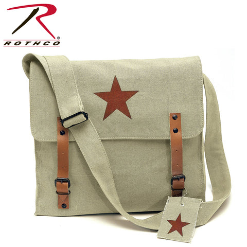 Rothco Canvas Classic Bag with Medic Star - Khaki