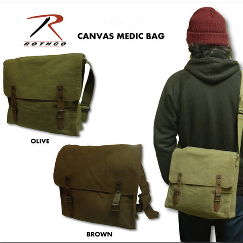 Rothco Canvas Medic Bag - Main
